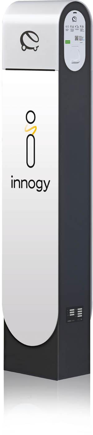 在innogy快速充电站上充电
